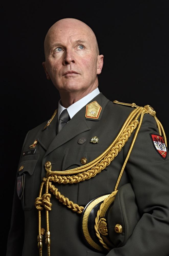 Austrian Defence Attaché Brigadier Günter Eisl 20th January 2016