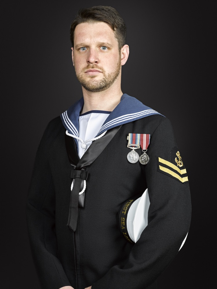 Royal Navy Portrait Photographer Rory Lewis London, Military Portrait Photographer