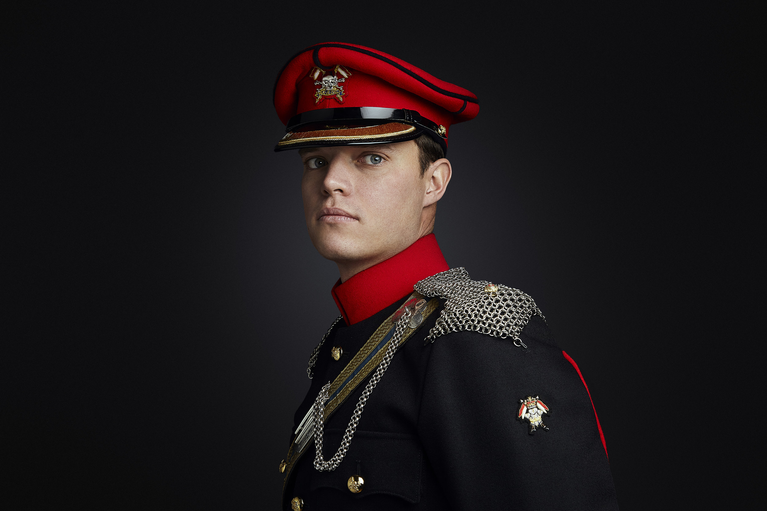 Military Portrait Photographer London, Rory Lewis