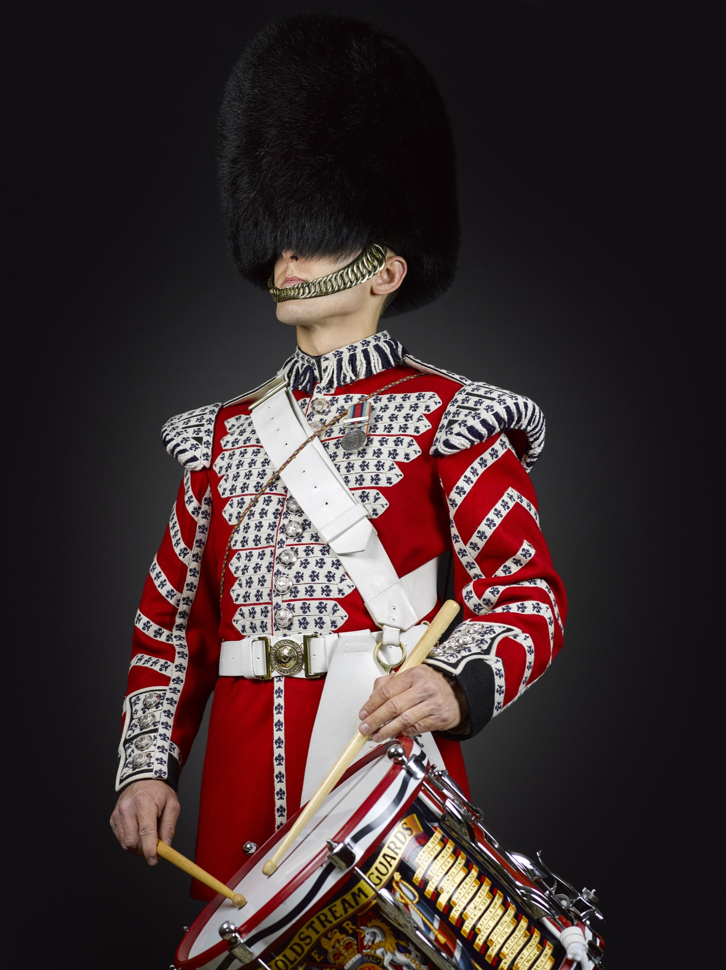 Drummer Steele (1st Battalion The Coldstream Guards).jpg