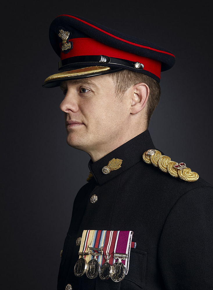 Major Arden, Rory Lewis Military Portrait Photographer (2019)