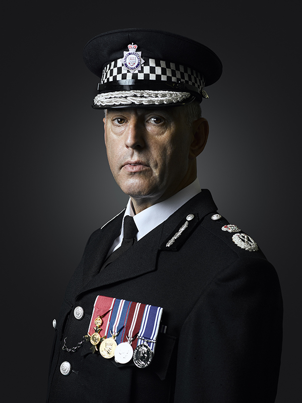 Chief Constable Paul Crowther, OBE Portrait Sitting (Rory Lewis Photographer 2019)