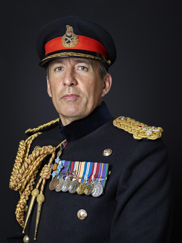 Lieutenant General James Bashall CBE Portrait Sitting — Rory