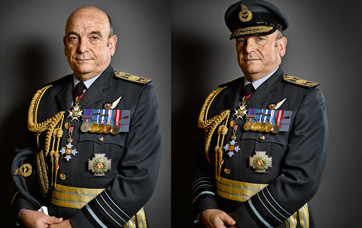 Air Chief Marshal Sir Stuart Peach KCB, CBE, ADC, DL
