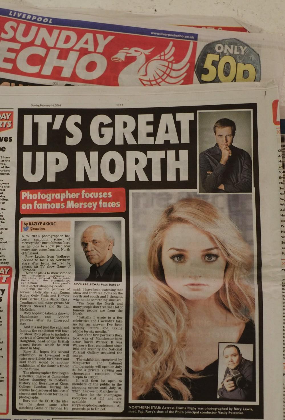 Liverpool Echo February 16th 2014