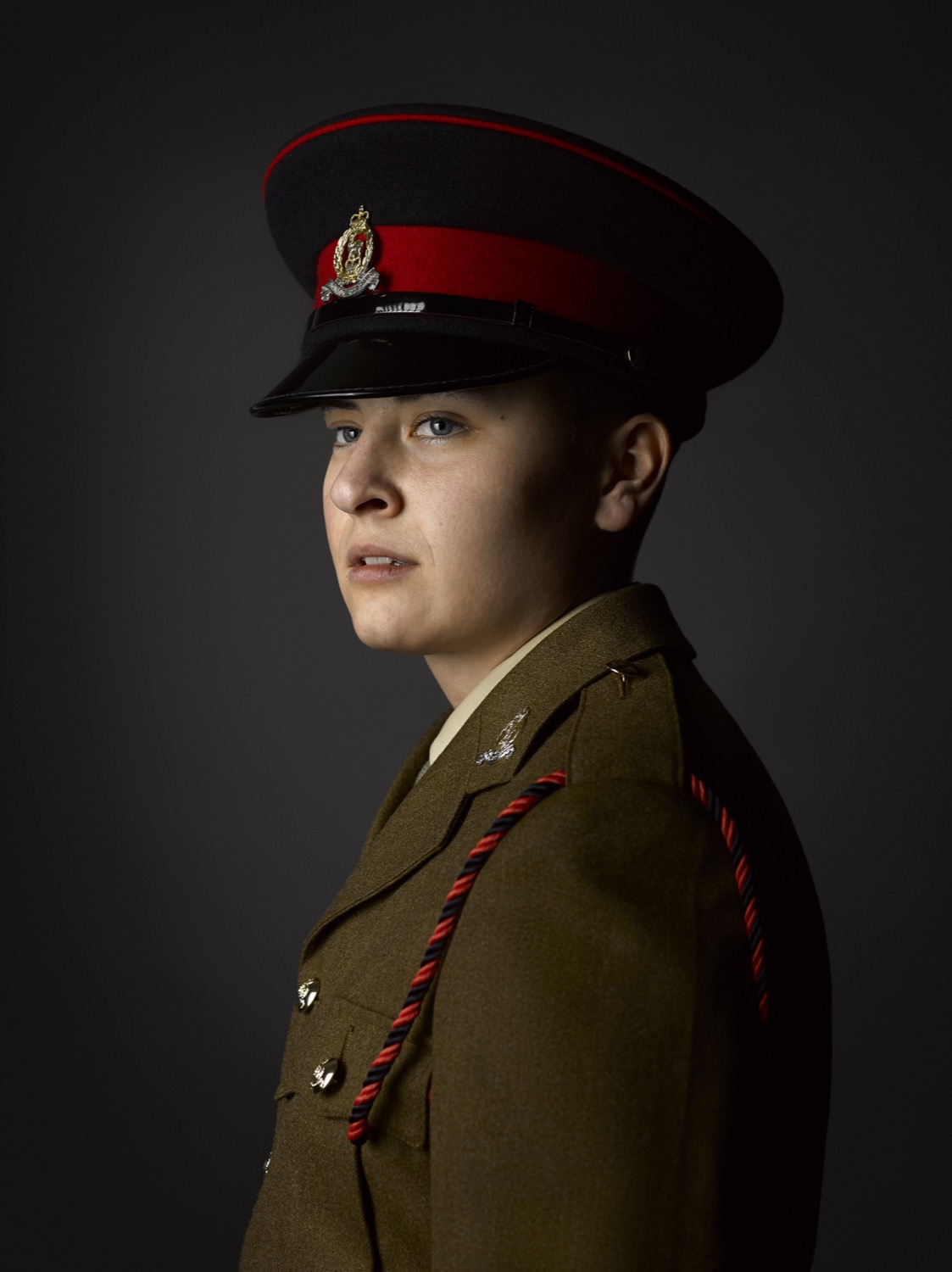 Pvt Liam Lancaster-Smith Adjutant General's Corps (Rory Lewis Photographer) 2018 Transgender Army Portraits