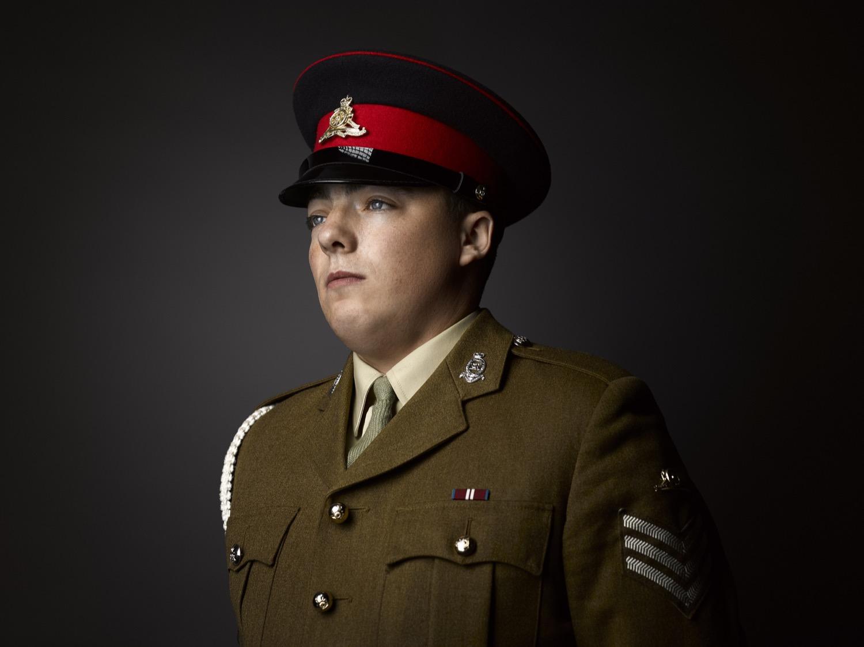 Sgt Davies Kings Troop Royal Horse Artillery 2018 Transgender Army Portraits