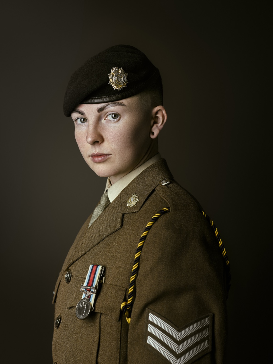Sgt Perkins Royal Logistic Corps (Rory Lewis Photographer) 2018 Transgender Army Portraits