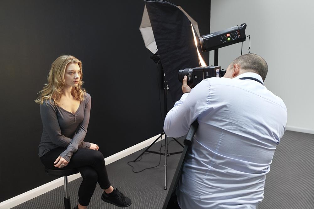 Natalie Dormer Portrait Sitting ( Rory Lewis  London Portrait Photographer) 2018