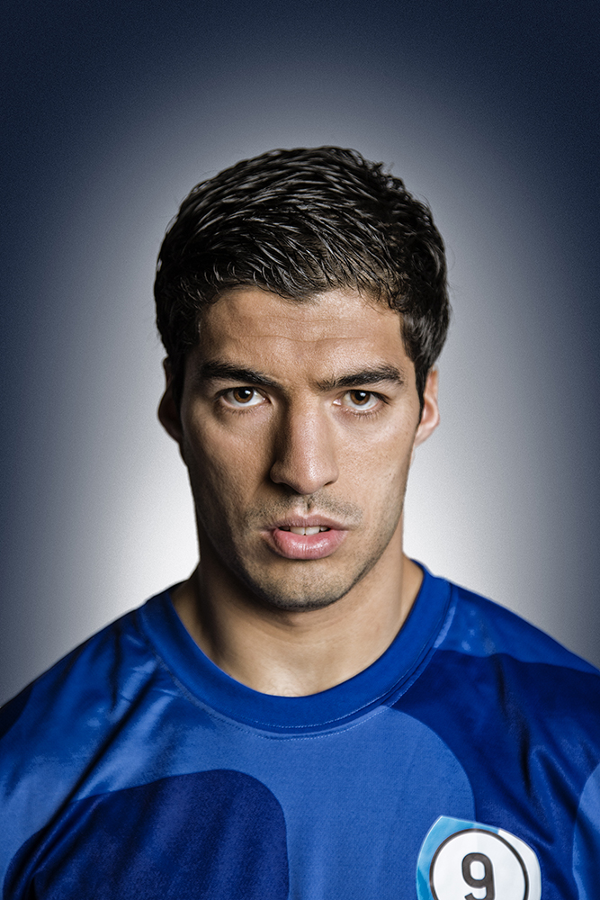 Luis Suarez for Pepsi (Rory Lewis Photographer 2016)