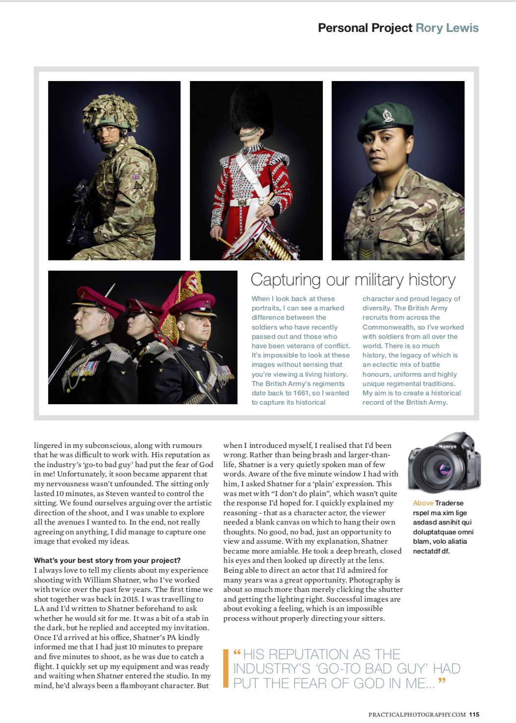 Practical Photography Magazine (Rory Lewis Photographer)