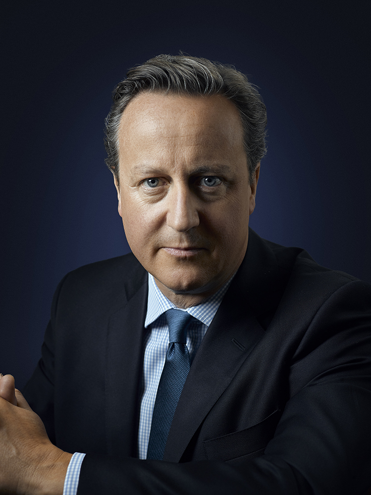 David Cameron Prime Minister Portrait Sitting London, Liverpool, Leeds, Corporate Headshot Photographer