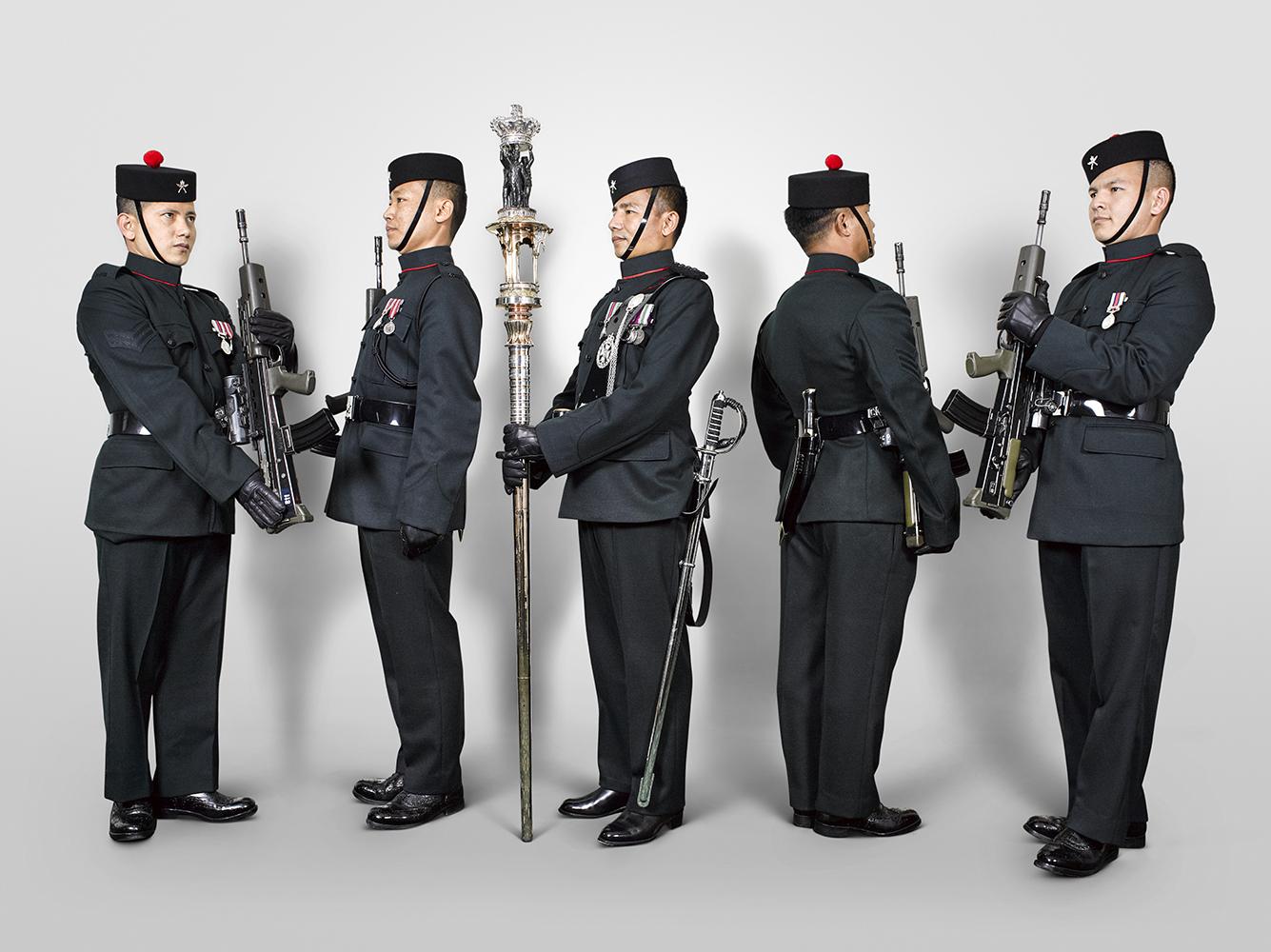 The Queen's Truncheon 2nd Battalion Royal Gurkha Rifles.jpg