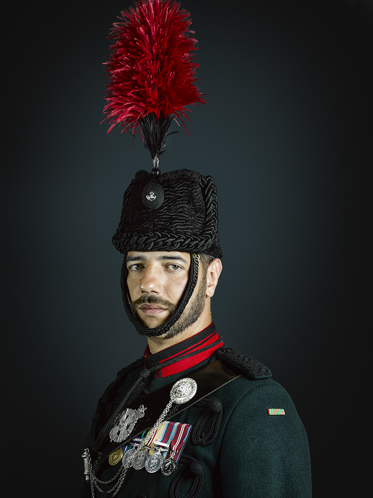 Sergeant Bugle Major Lewis 1st Battalion The Rifles (Rory Lewis Photographer 2018) Military Portrait Photographer (London)