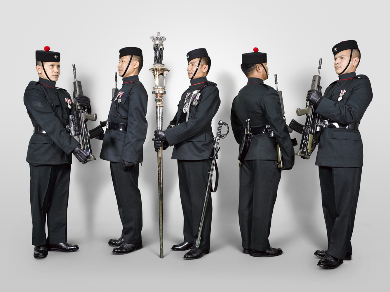 The Queen's Truncheon , 2nd Battalion Royal Gurkha Rifles (Rory Lewis Military Portrait Photographer)