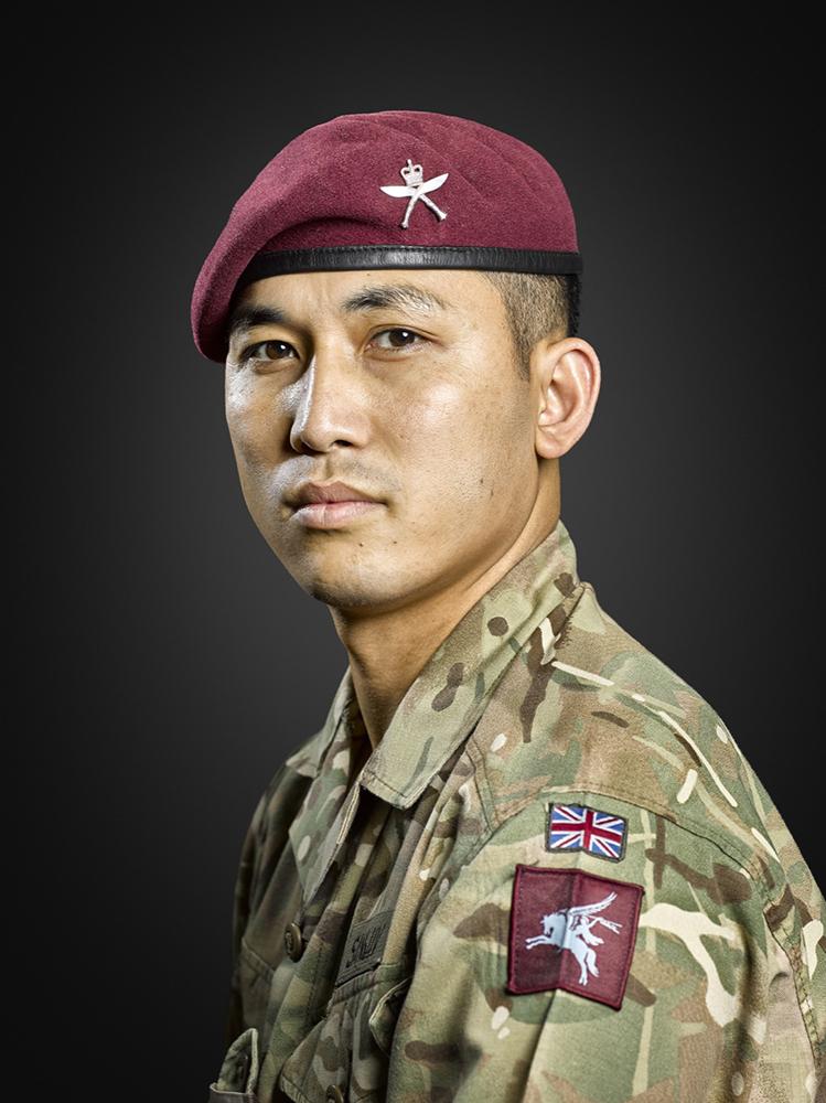 2nd Battalion Royal Gurkha Rifles, Rory Lewis Military Portrait Photographer London