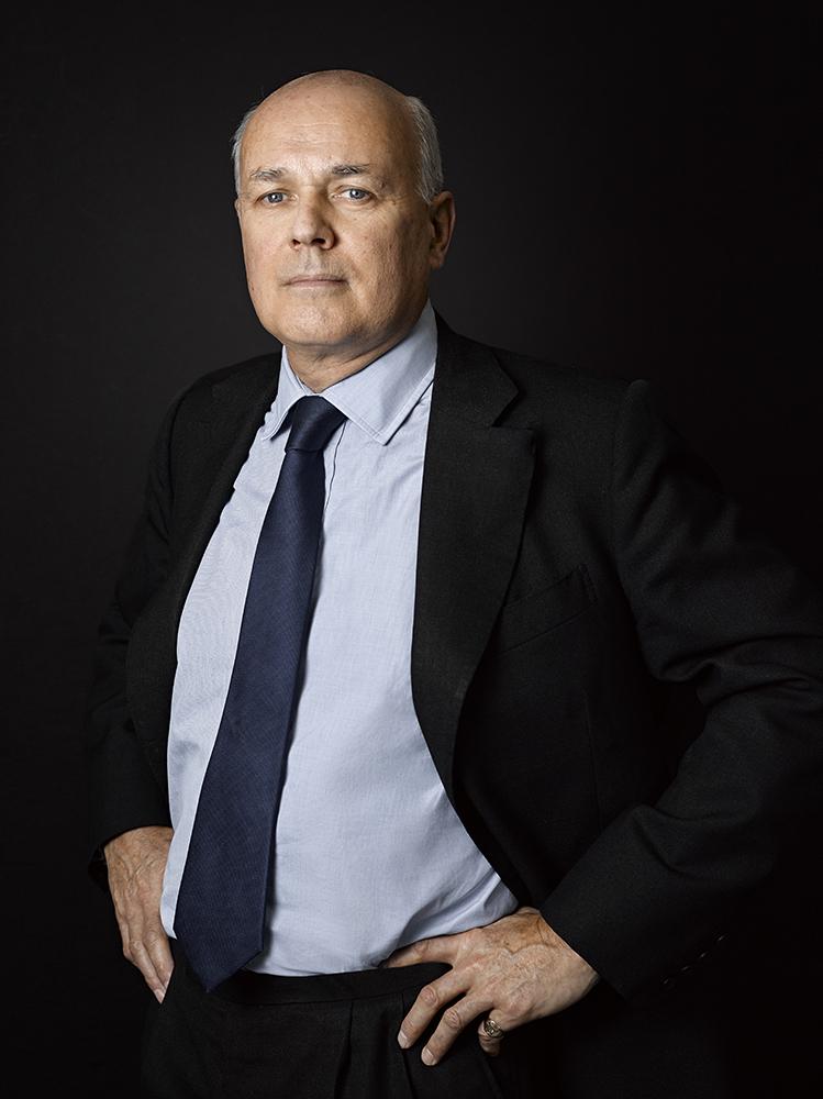 Iain Duncan-Smith MP (Rory Lewis London Portrait Photographer)