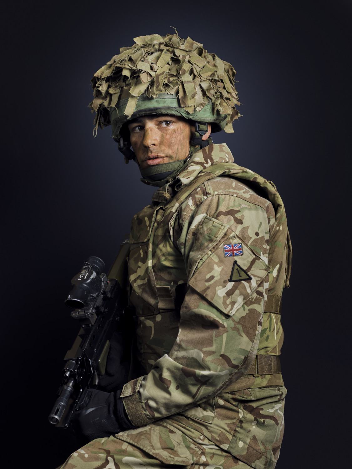 Tpr Millward The Royal Tank Regiment (Rory Lewis London Portrait Photographer)