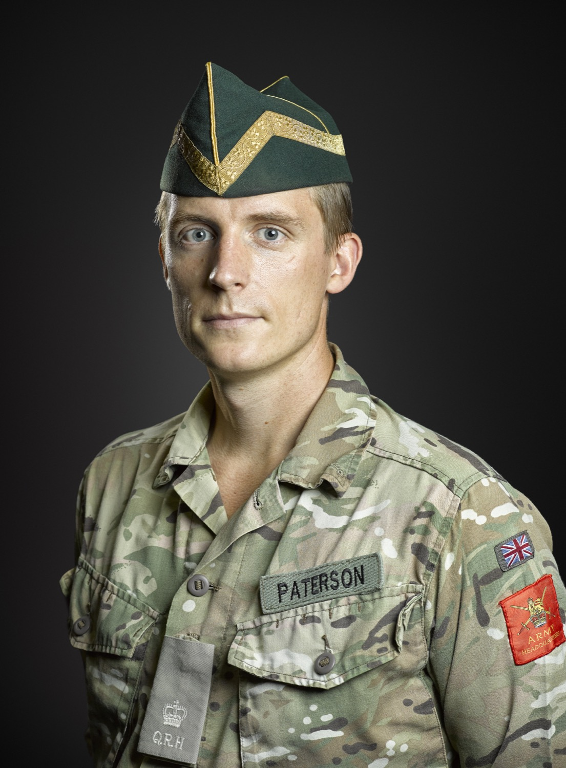Major Paterson (The Queens Royal Hussars) Rory Lewis Photographer
