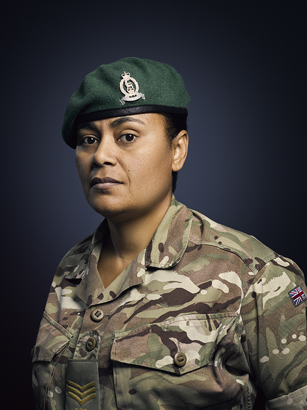 Sergeant Seeto Adjutant General's Corps (Rory Lewis Photographer    Soldiery   )