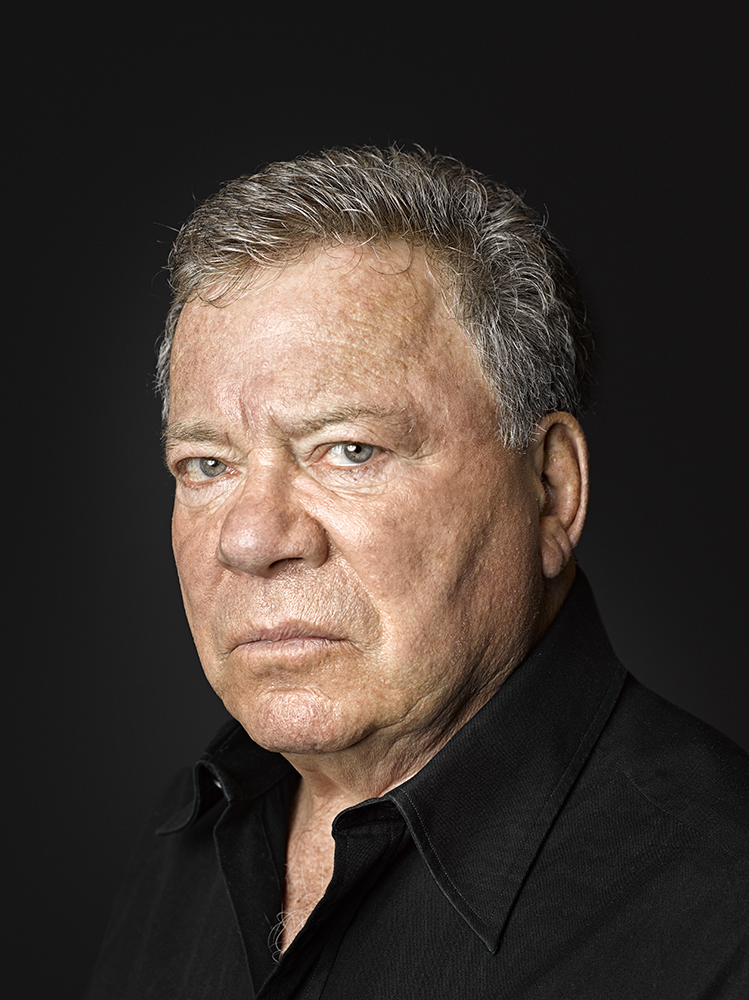 William Shatner Portrait Rory Lewis Photographer Los Angeles, Portrait Photographer