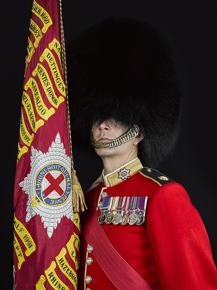 1st Battalion Coldstream Guards Portrait Sittings (Rory Lewis Photographer) London Portrait Photographer