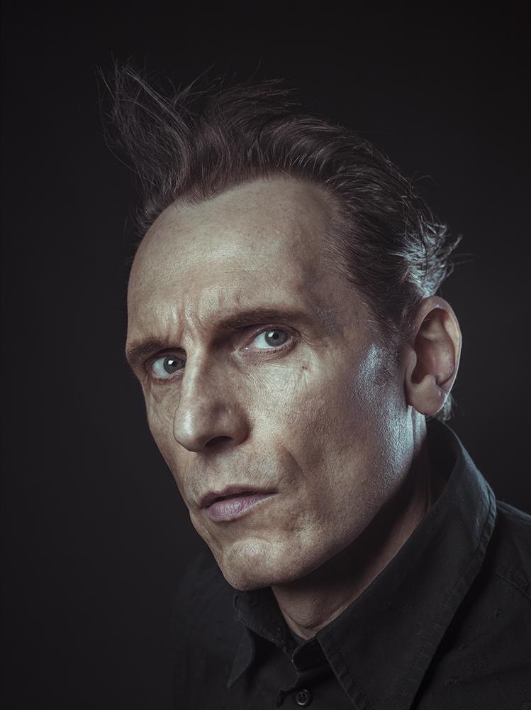 Julian Bleach Portrait Sitting Rory Lewis Photographer 2014