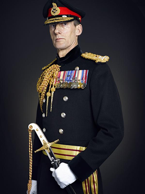 Lieutenant General Poffley,  Portrait  Sitting (Rory Lewis Military Portrait Photographer 2019)