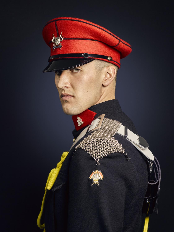 The Royal Lancers Portraits (Military Portrait Photographer Rory Lewis