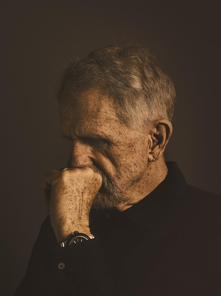 Actor René Auberjonois Portrait Photographer Rory Lewis