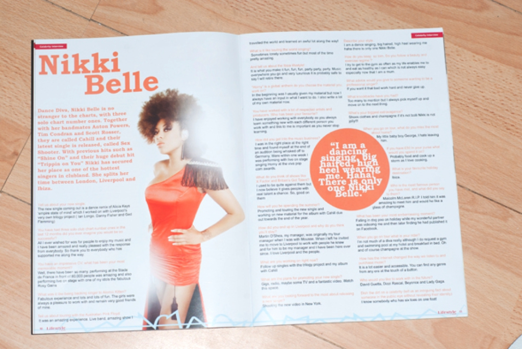 Nikki Belle Lifestyle Monthly Magazine