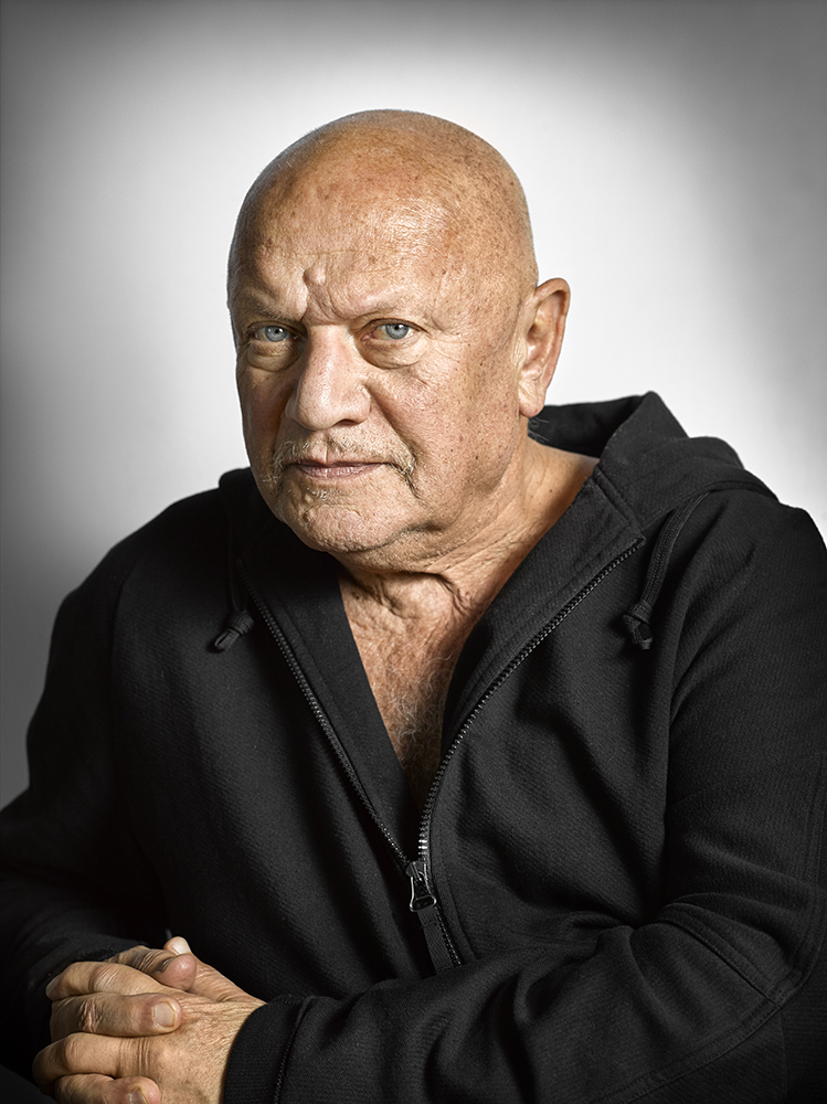 Steven Berkoff Portrait Sitting (Rory Lewis Photographer)