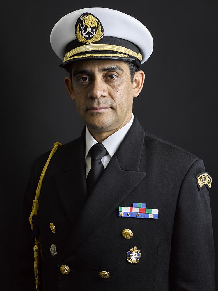 Commander Lopez Mexican Naval Portrait (Rory Lewis Photographer)