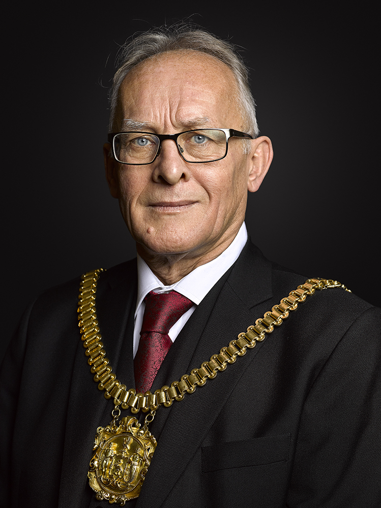 Lord Mayor of Liverpool Councillor Malcolm Kennedy (Rory Lewis Photographer)