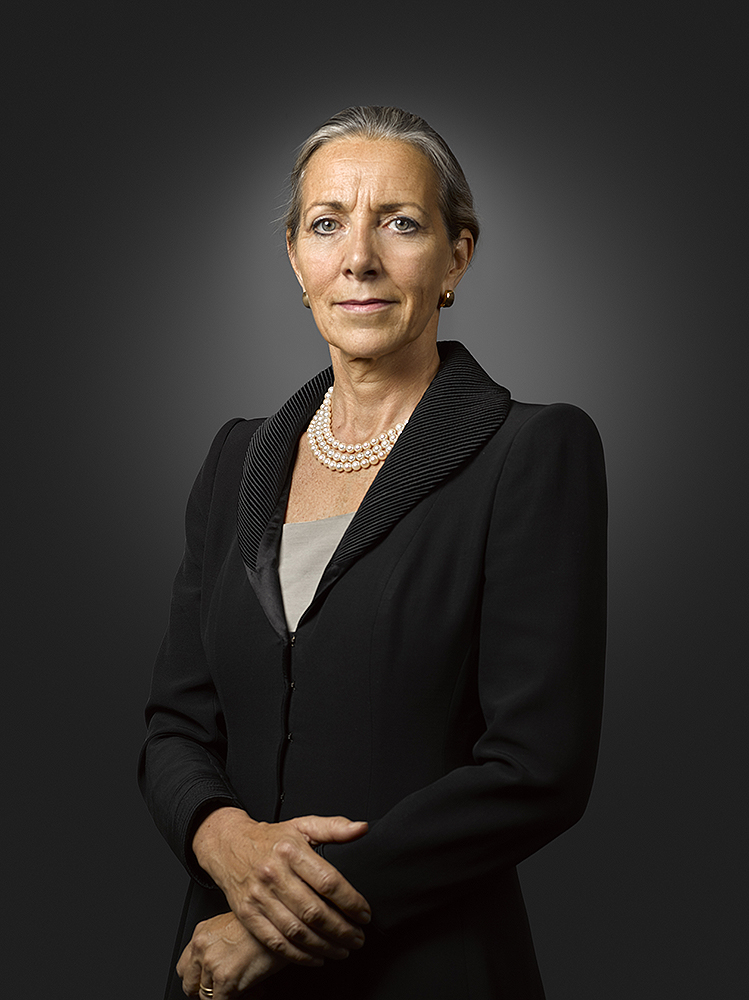 Baroness Rona Fairhead CBE Portrait Sitting, UK GOV Commission (Rory Lewis)