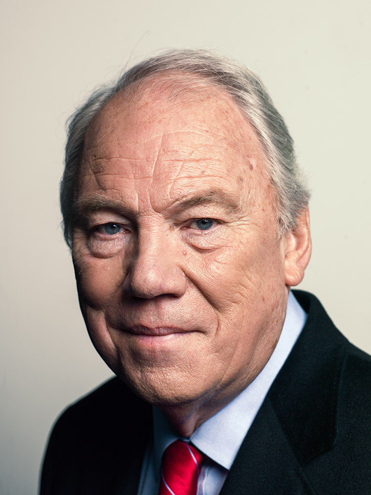 Peter Sissons Portrait Sitting Rory Lewis Photographer 2014