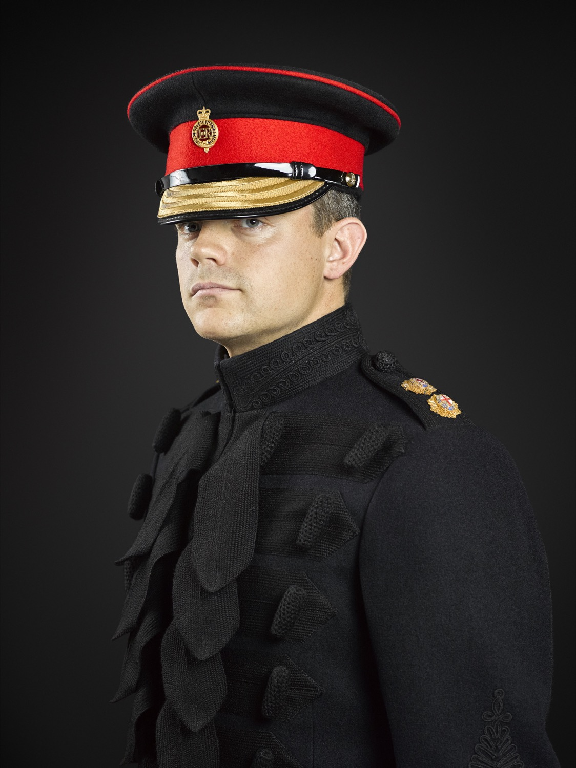 First Lieutenant Bond (Household Cavalry Mounted Regiment) Rory Lewis Photographer (London Military Portraiture 2016)