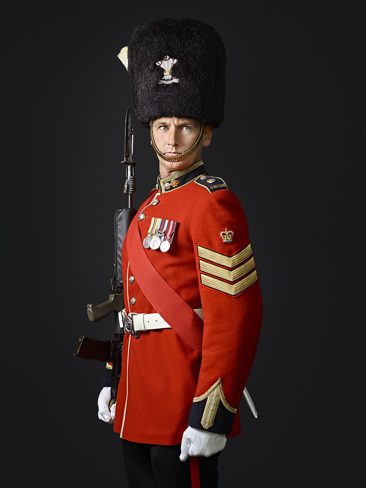 1st Battalion Royal Welsh Regiment (Rory Lewis Military Portrait Photographer London.