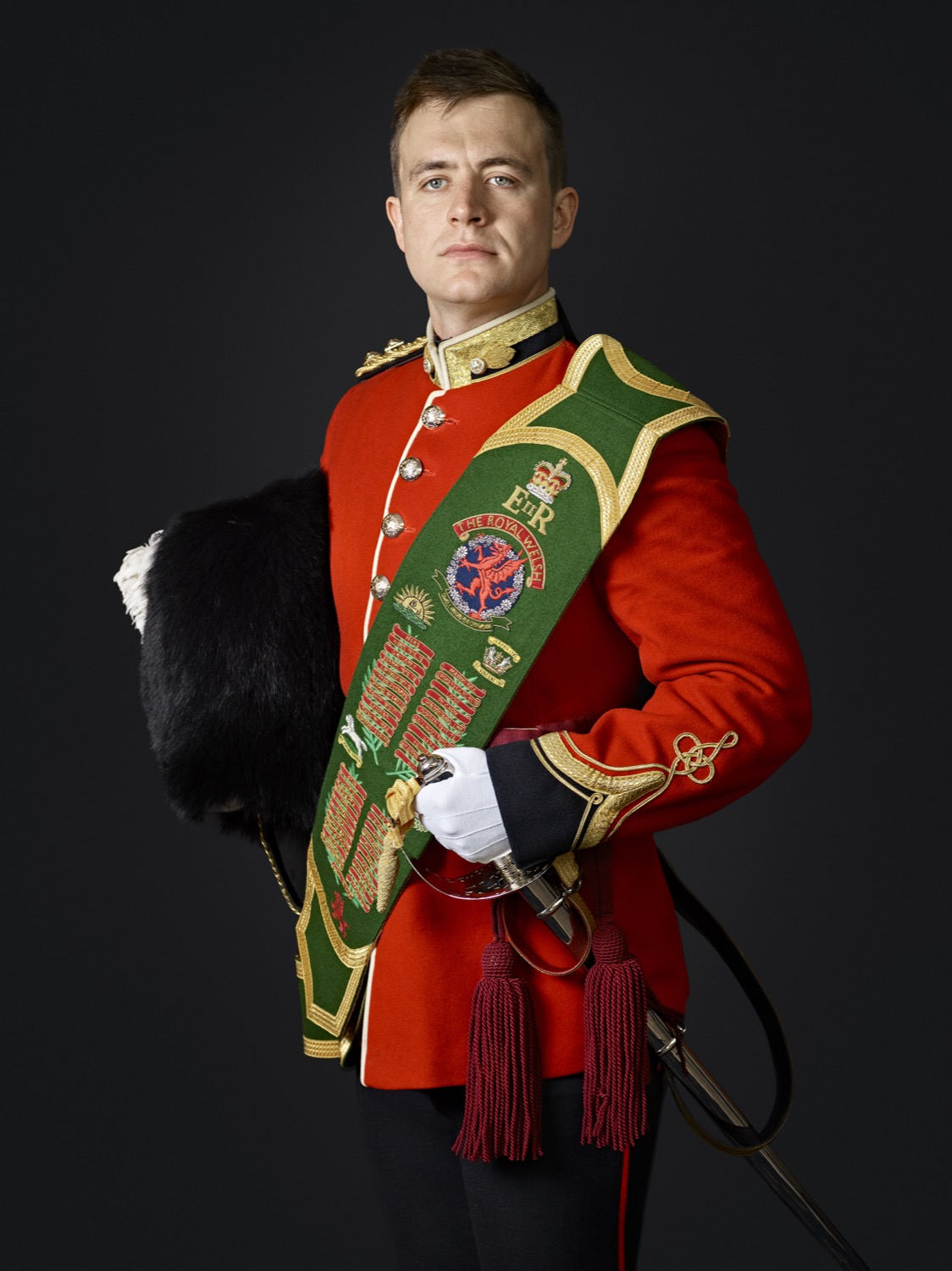 Lt Ixer 1st Battalion Royal Welsh Regiment (Rory Lewis Military Portrait Photographer London.
