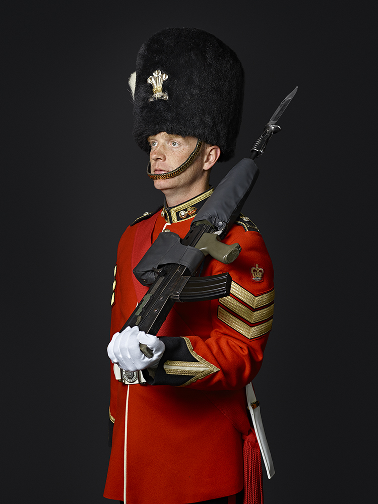 Colour Sergeant Woodley 1st Battalion Royal Welsh Regiment (Rory Lewis Military Portrait Photographer London.