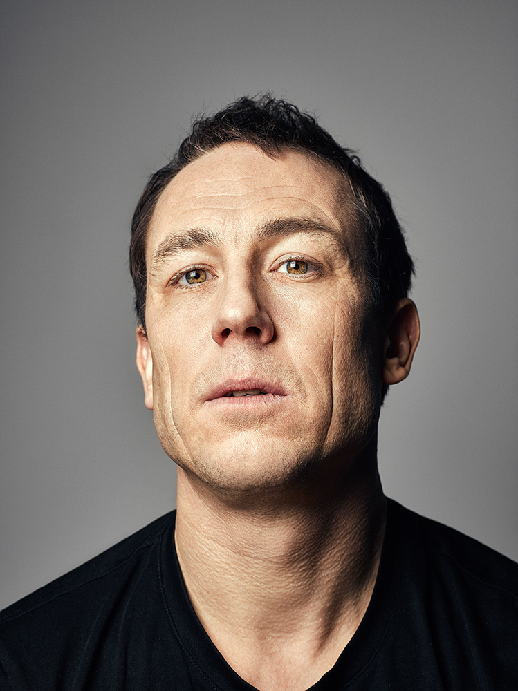 Tobias Menzies  Portrait Sitting  London Photographer Rory Lewis