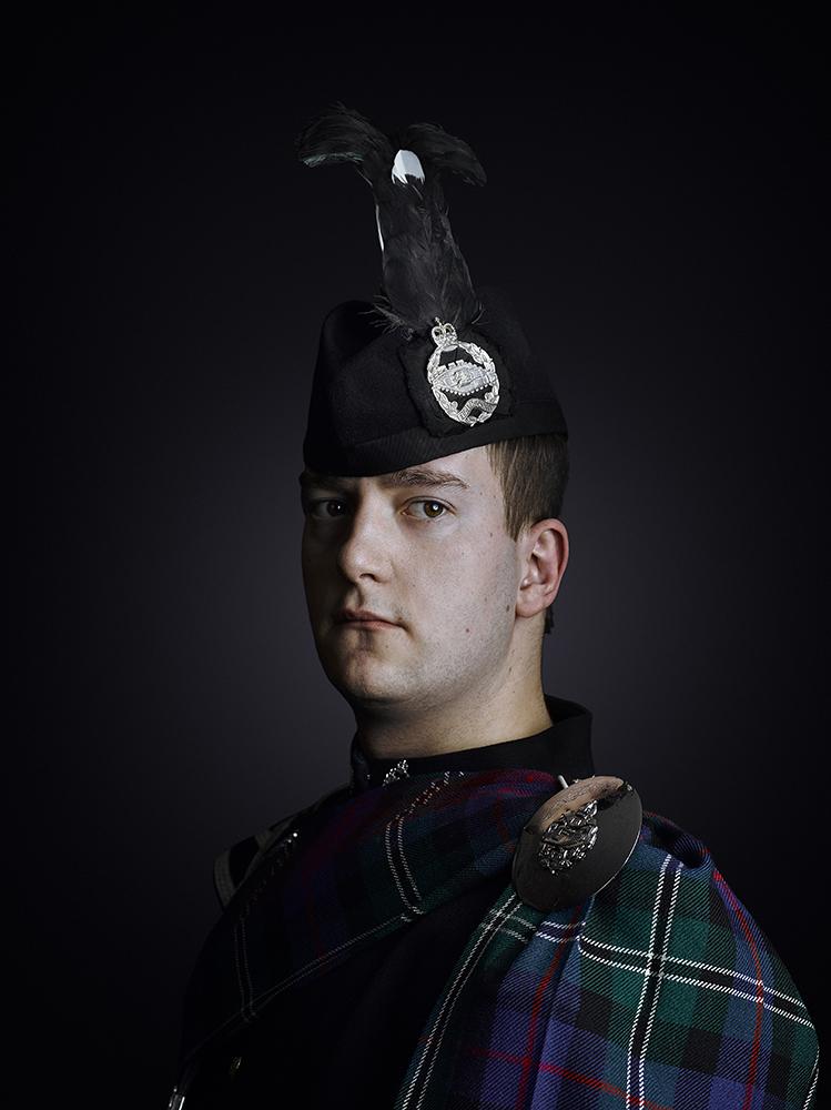 Royal Tank Regiment Portraits, Rory Lewis British Army Portrait Photographer