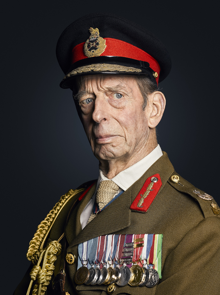 Prince Edward, Duke of Kent, KG, GCMG, GCVO, CD, ADC(P) (Rory Lewis Royal Portrait Photographer 2019)