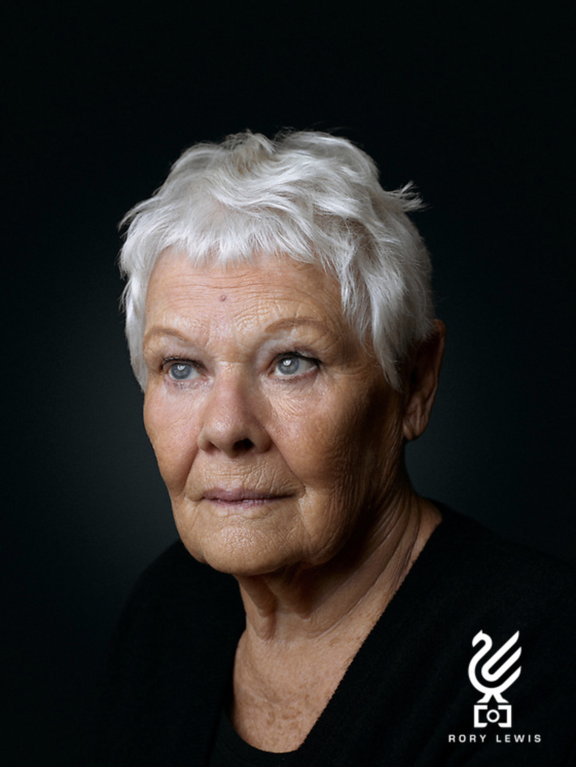 Dame Judi Dench Portrait Sitting ...