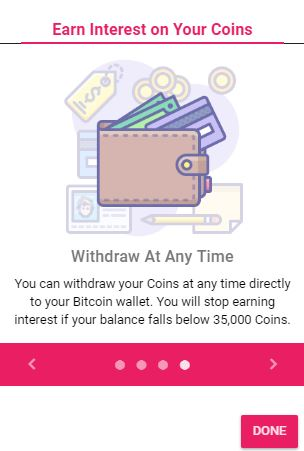 Cointiply Withdrawal