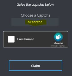This is hCaptcha, similar to rCaptchas.
