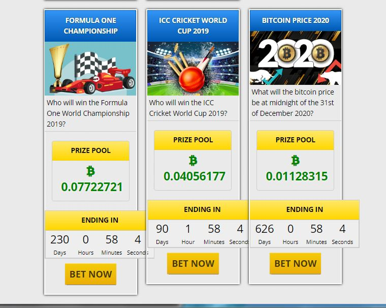 Tempted by the BTC price prediction pool.