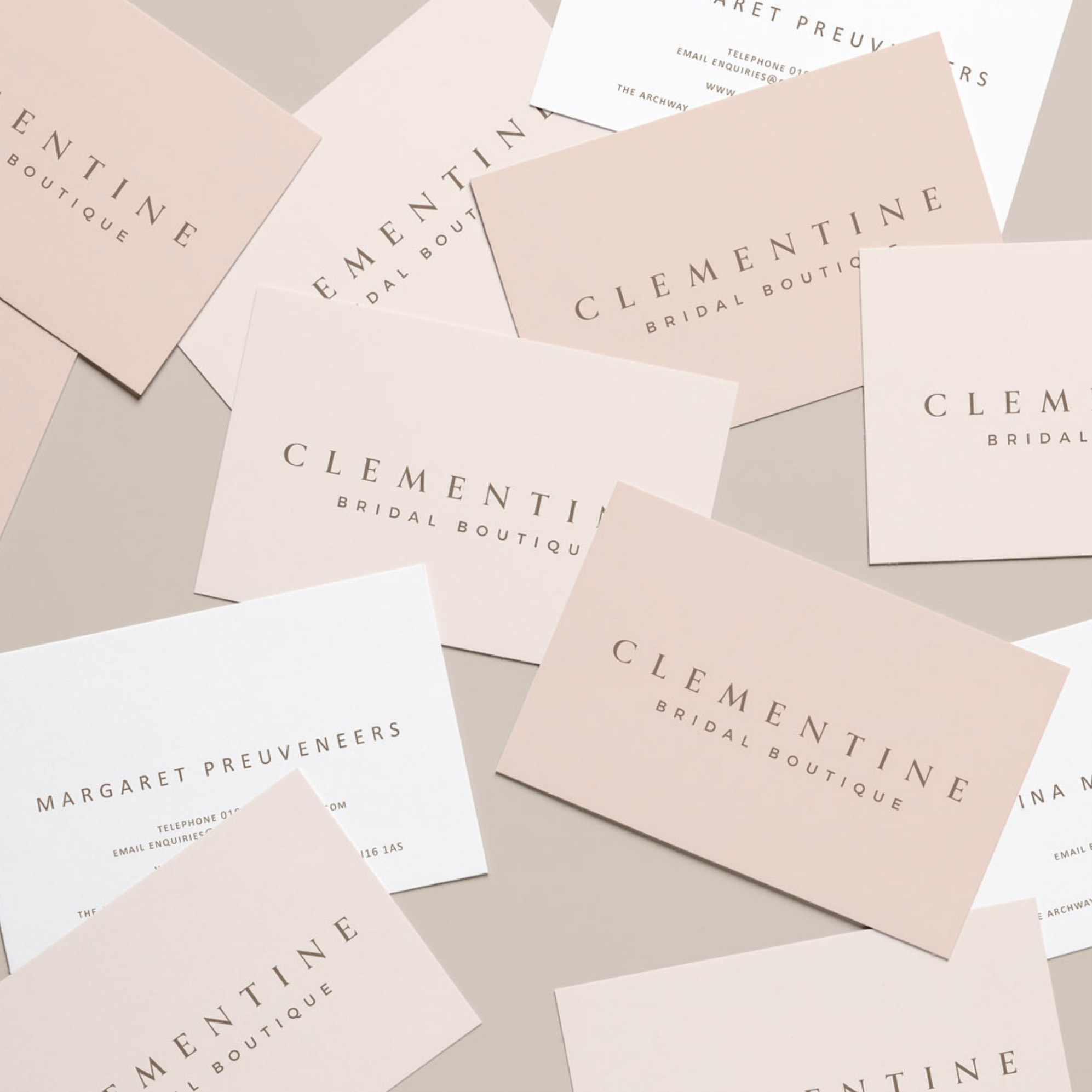 Branding - Our branding is complete and we are delighted with the final look! Designed by Gemma at www.bobblegraphics.co.ukWe love its clean lines and delicate detail. The shop signage is on order so watch this space for a sneak preview….