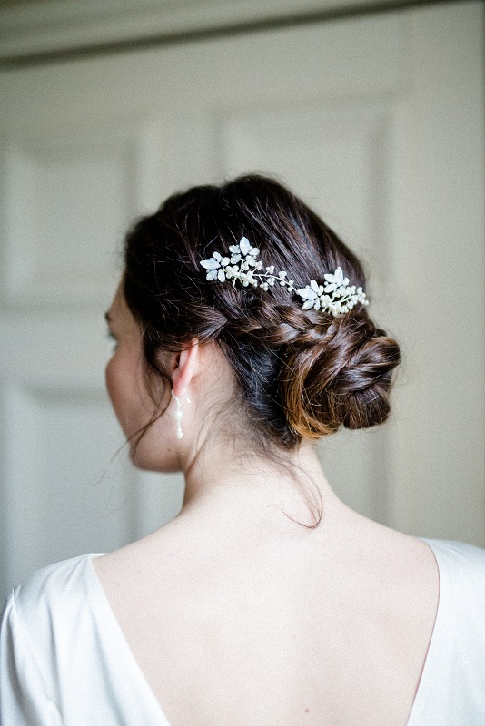 s fern hairpins in silver with white opal swarovski crystal and freshwater pearl by victoria fergusson (2).jpg