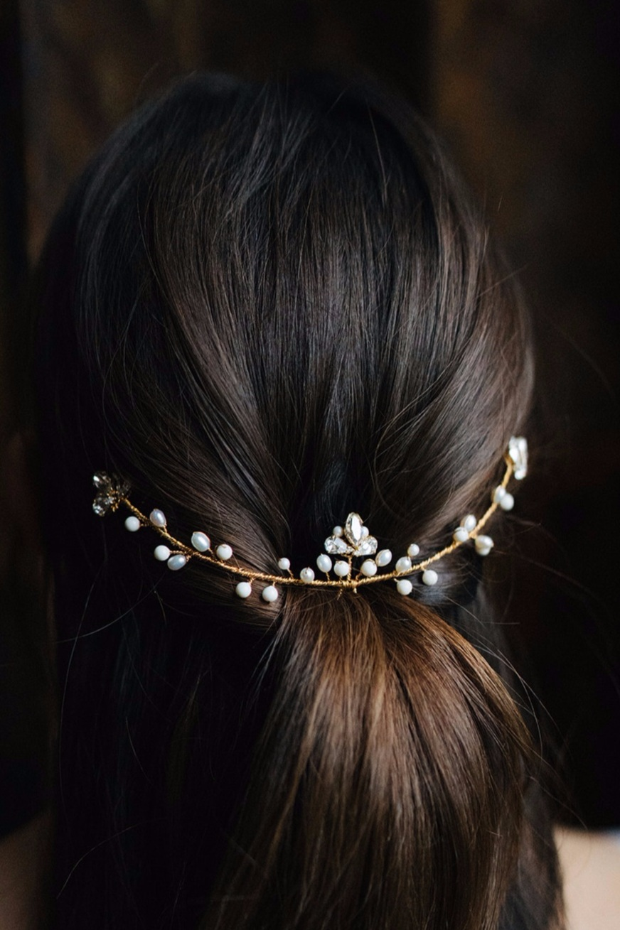 Romance hairpin - gold by Victoria Fergusson Accessories (3).jpg